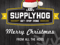 Holiday Cards From SupplyHog