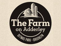 The Farm On Adderley Logo (inverse version)