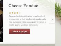 Recipe Feature