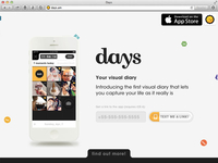 Days Launch Page