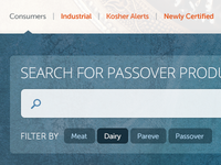 Search for Passover Products