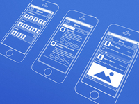 iOS Wireframes