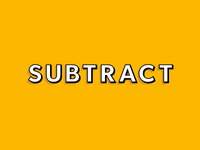 Subtract Logo