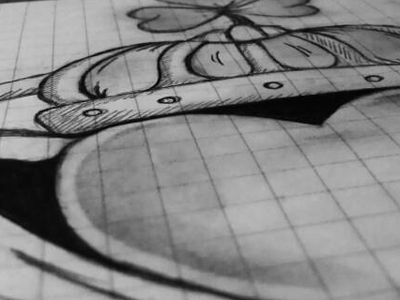 Dribbble - Claddagh Sketch by Cat Noone