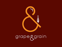 Grape & Grain Logo