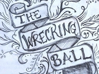 The Wrecking Ball logo concept