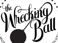"""Wrecking Ball"" Logo Concept"