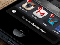 iOS Concept #Delete Apps