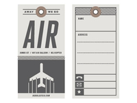 Air - Travel Tag