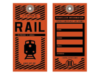 Rail - Travel tag