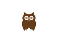 Owl / Mountain Logo