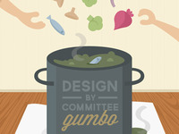 Design By Committee Gumbo Illustration