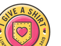 I Give A Shirt Logo/Badge