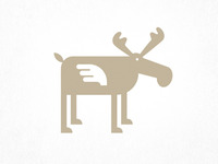 Flying Moose Logo