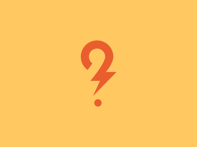 Logo design inspiration #4 - Sean Farrell - Question Mark Logo