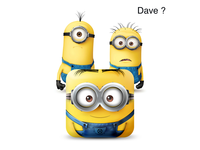 "Dave ""Despicable Me"" iOS funny icon"