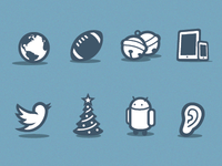 Oh, You Know, Just Some Icons.