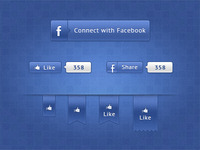 Alternative Facebook Ui Free PSD