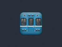 Subway icon for iOS