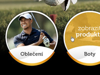 Golf eshop product categories