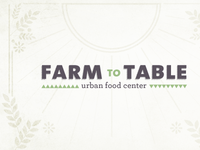 Farm to Table!
