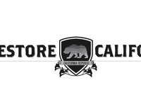 Restore California: bear & shield version