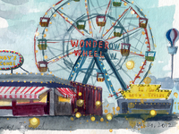 The Wonder Wheel, Coney Island