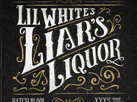 Liar's Liquor Label