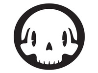Detail of Happyface Skull icon