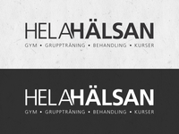 Logotype for a gym