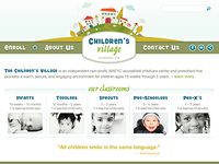Daycare Website Design Concept