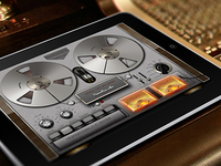 Tape Recorder IPad App
