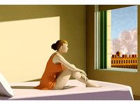 Morning Sun (after Edward Hopper)