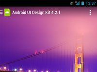 Android UI Design Kit for Photoshop 4.2.1