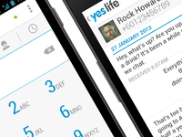 Yes Life for Android Redesigned