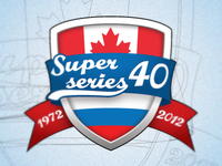 40 years hockey Super Series Rus - Can