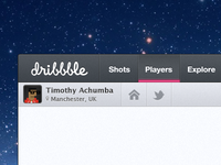 Dribbble App (WIP) Updated (Take a look at the rebound)