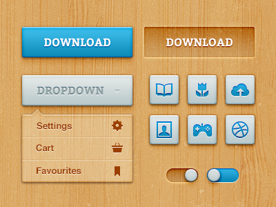 Download Bold Woody UI