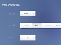 Freebie - Navigation (Free PSD and CSS)