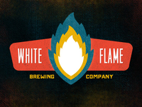 White Flame Brewing Company Colorized Concept