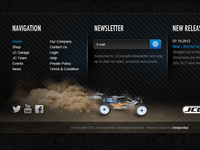 jConcepts Website Footer