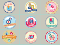 Category Badges