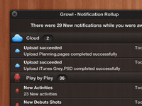 Growl Notification Roll Up