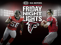 Atlanta Falcons Friday Night Lights Promotion