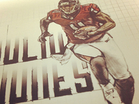 Julio Jones Comic Style