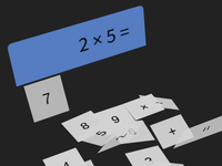 3D CSS Flat Calculator