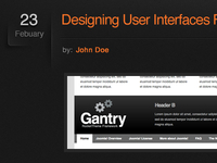 Gantry Framework Blog