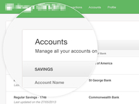 Accounts Dashboard