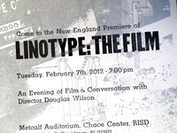 Linotype Film Poster
