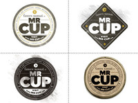 Mr-Cup logo variations